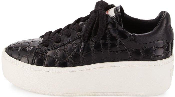 Ash Cult Sneakers Black Croc 2