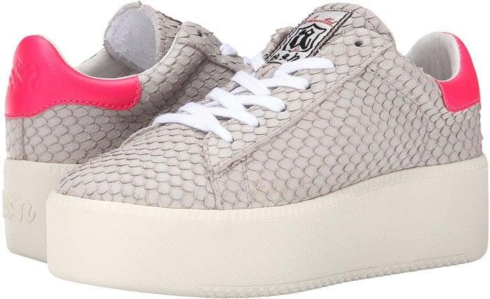 Ash Cult Sneakers Pink Reptile