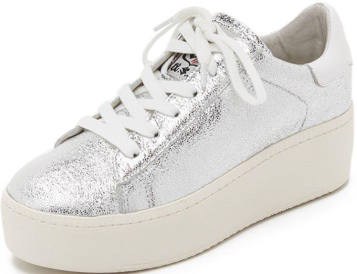 Ash Cult Sneakers Silver 1