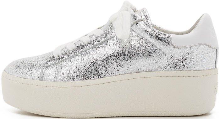 Ash Cult Sneakers Silver 2