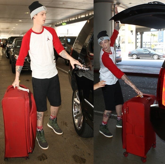 Ash Stymest at LAX