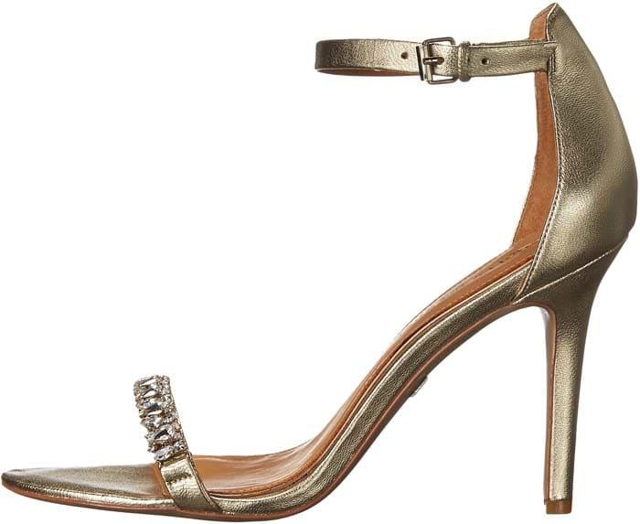 Badgley Mischka Elope Crystal Embellished Sandals