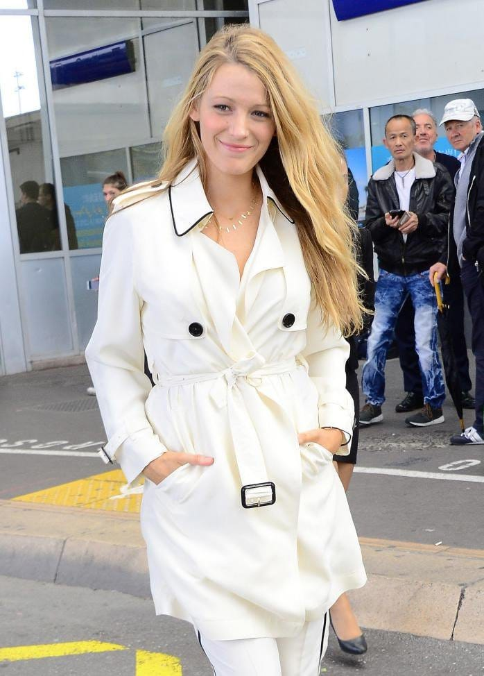 Blake Lively arrives cannes film fest