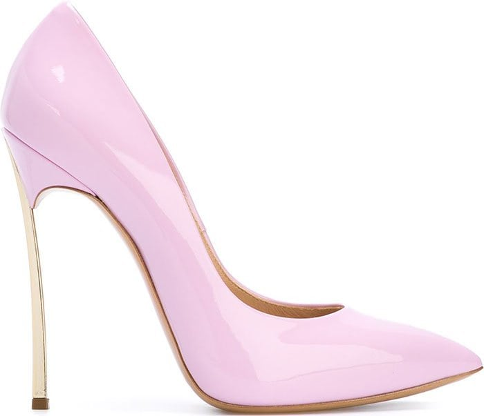 Casadei Blade Pumps Pink Patent
