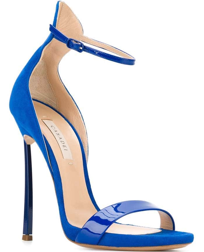 Casadei Blade Sandals Blue