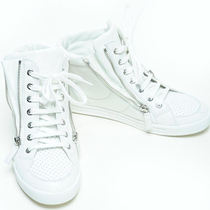 Chanel 14C high-top sneakers