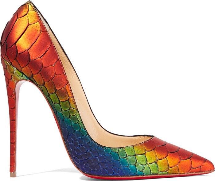 Christian-Louboutin-So-Kate-Python-Pumps-multicolored