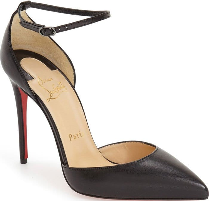 Christian-Louboutin-Uptown-Black-Leather-Pumps