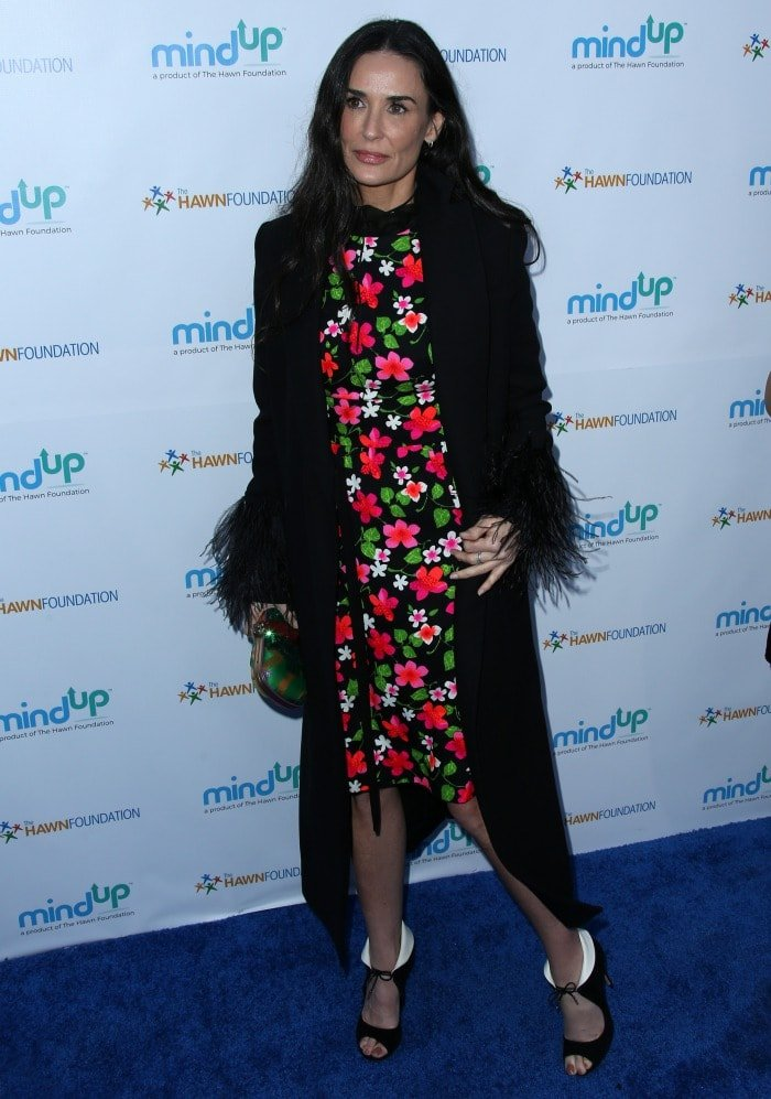 Demi Moore Goldies love in for kids 2016