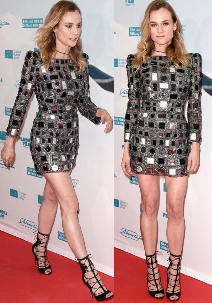 Diane Kruger Sky German Premiere Cesare Paciotti 2