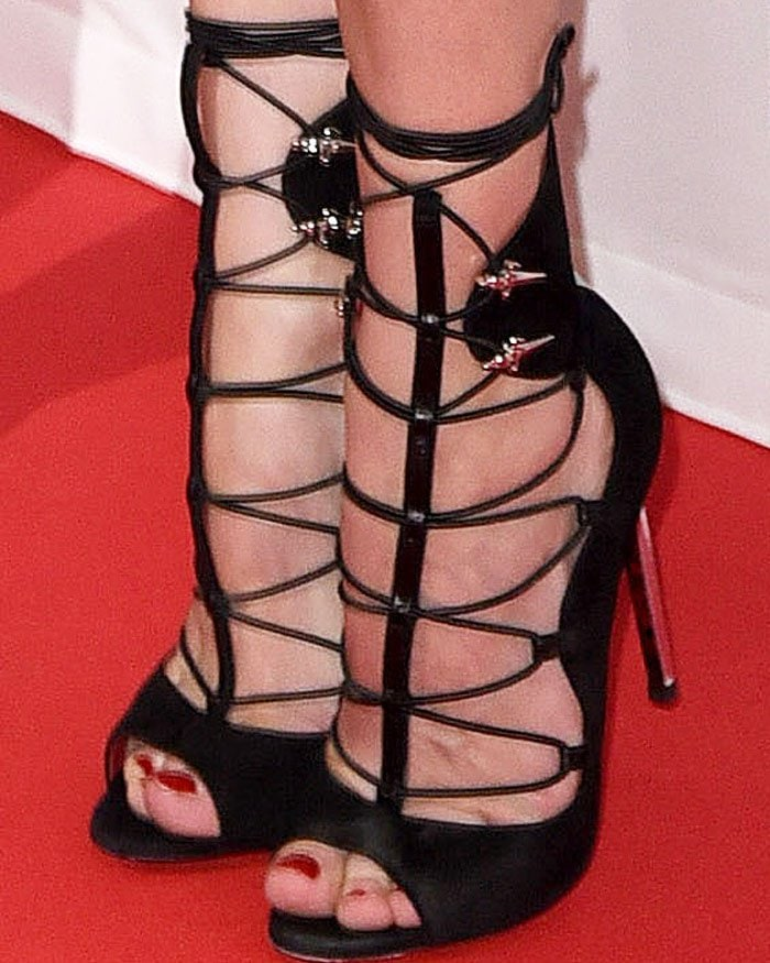 Diane Kruger Sky German Premiere Cesare Paciotti 3