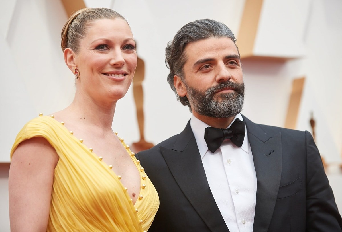 Oscar Isaac's height is shorter than his tall Danish wife Elvira Lind