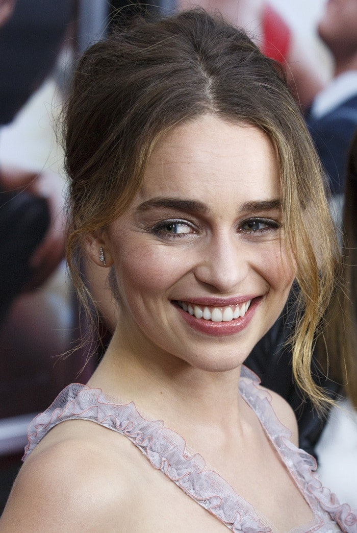 World premiere of 'Me Before You' - Arrivals Featuring: Emilia Clarke Where: New York, United States When: 23 May 2016 Credit: WENN.com