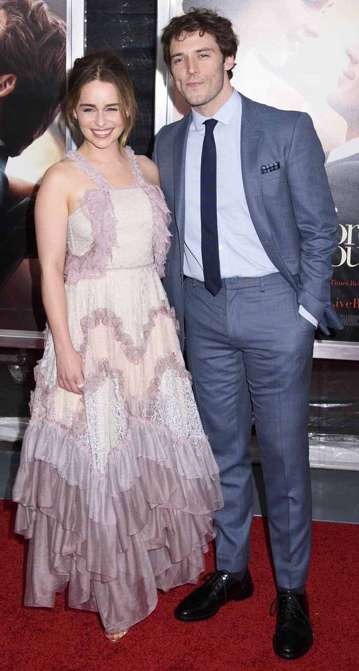 World premiere of 'Me Before You' - Arrivals Featuring: Emilia Clarke, Sam Claflin Where: New York, United States When: 23 May 2016 Credit: WENN.com