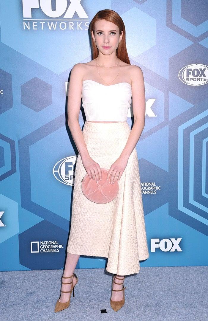 Emma-Roberts-2016-FOX-Upfront-Scream-Queens