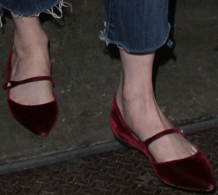 Emma Roberts LAX Tabitha Simmons 2