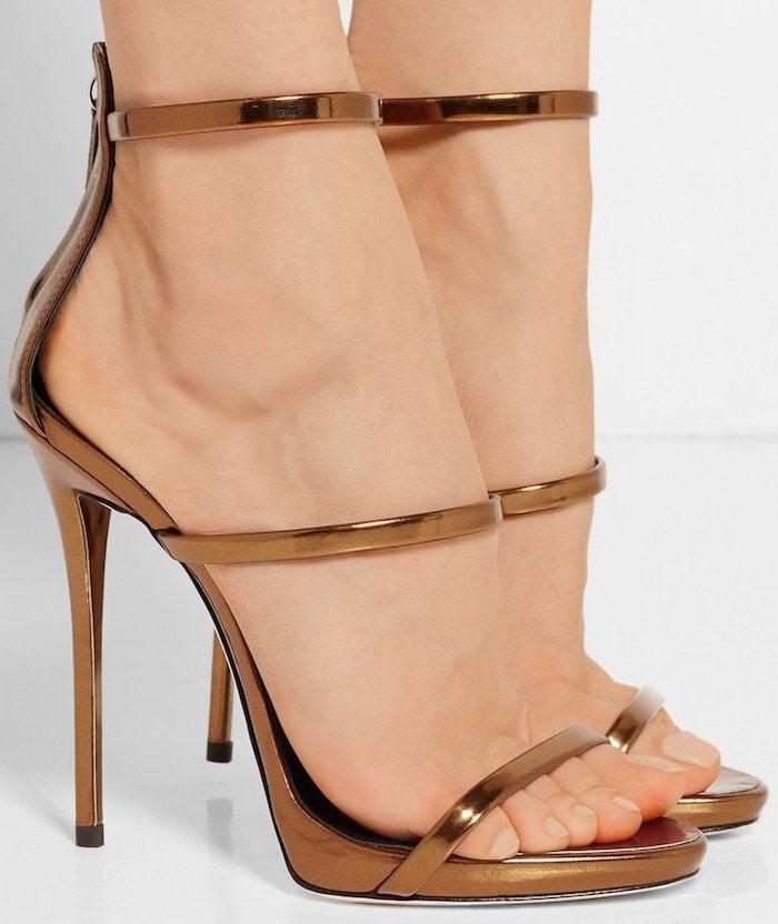 """""""Harmony"""" Sandals in Bronze"""