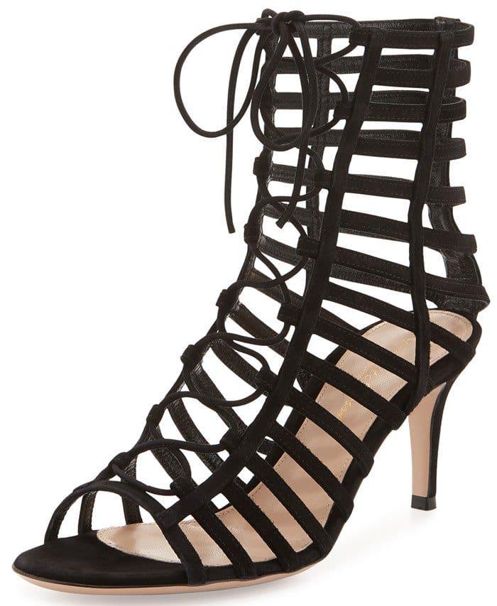 Gianvito Rossi Lace-Up Gladiator Sandal