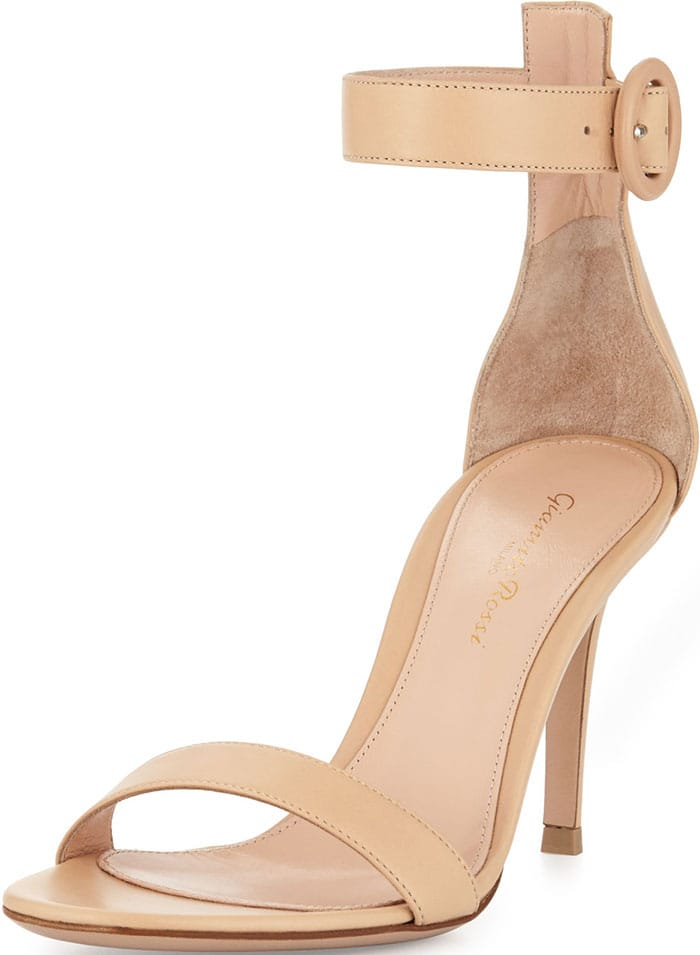 Gianvito-Rossi-Leather-Ankle-Strap-Simple-Sandals