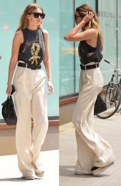 Gigi Hadid Soho Stella McCartney Platform Sneakers