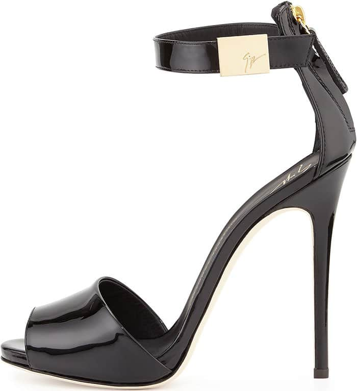 Giuseppe-Zanotti-Patent-Ankle-Strap-Sandals
