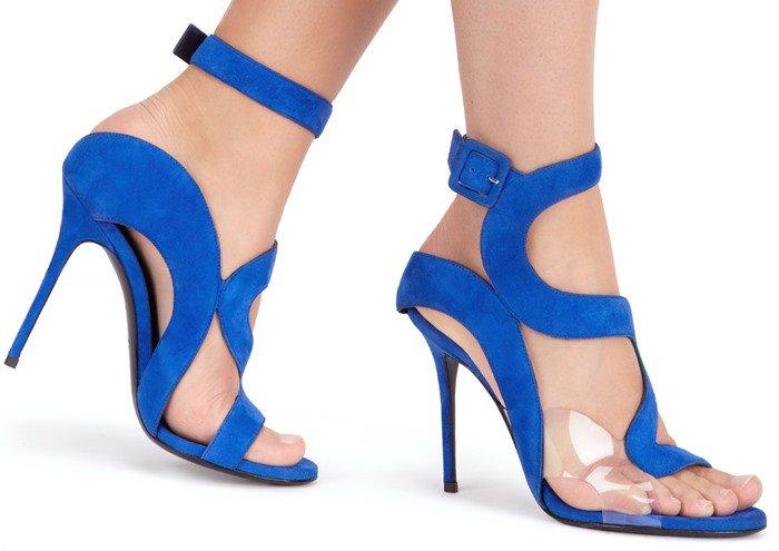 Giuseppe Zanotti Summer Sandals in Blue