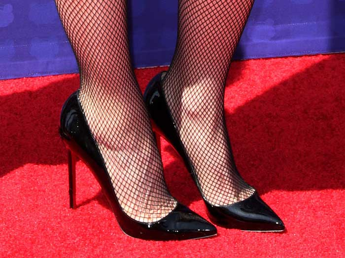Gwen Stefani Christian Louboutin So Kate pumps
