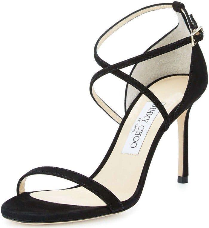 Jimmy Choo Hesper Strappy 85mm Sandal