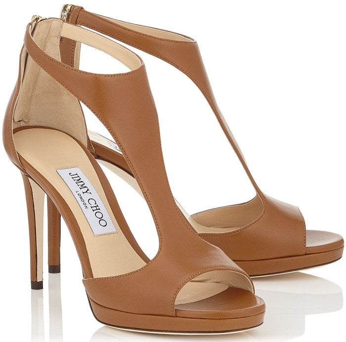 Jimmy Choo Lana in canyon leather