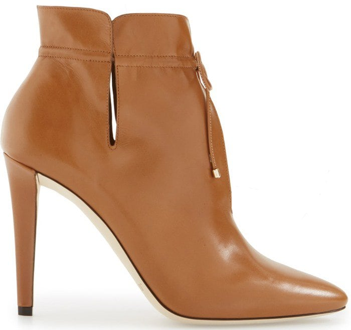 Jimmy Choo Murphy cutout ankle boots in canyon leather