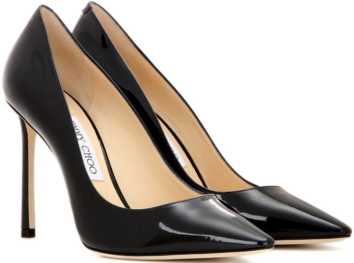 Jimmy Choo Romy Black Patent Leather