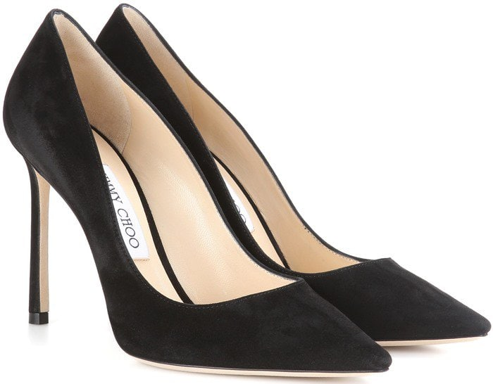 Jimmy Choo Romy Black Suede