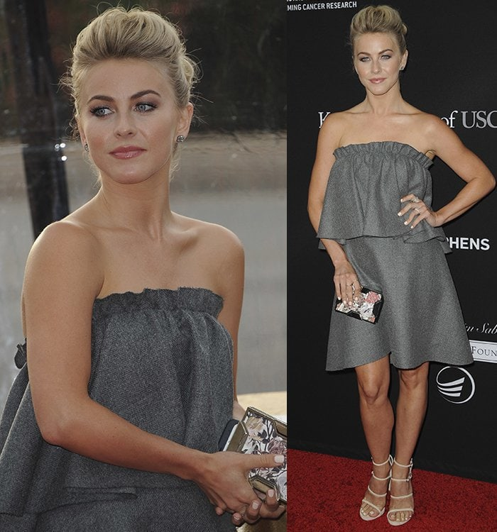 Julianne Hough at the 3rd Biennial Rebels With A Cause Fundraiser at Barker Hangar in Santa Monica, California on May 11, 2016