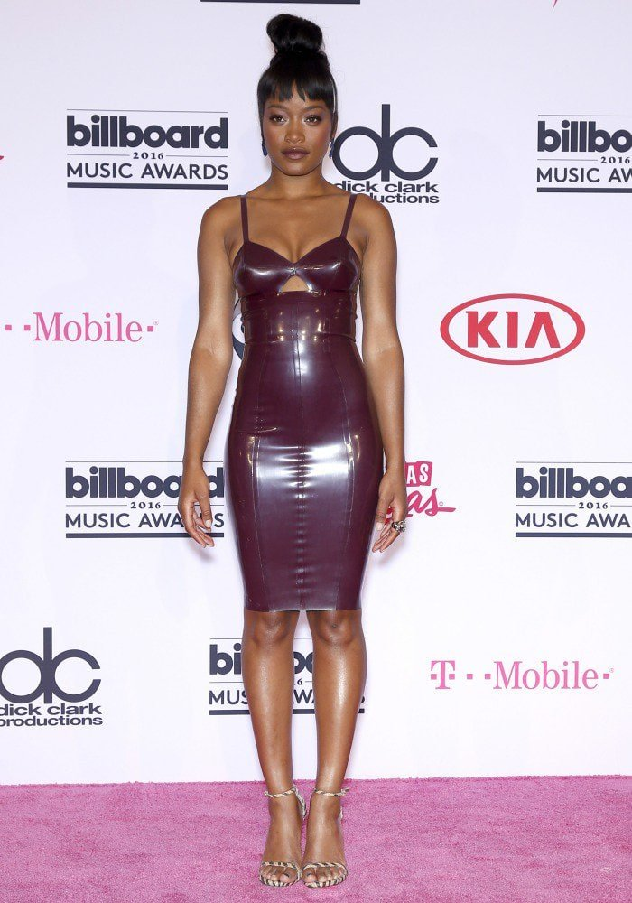 2016 Billboard Music Award keke palmer latex dress
