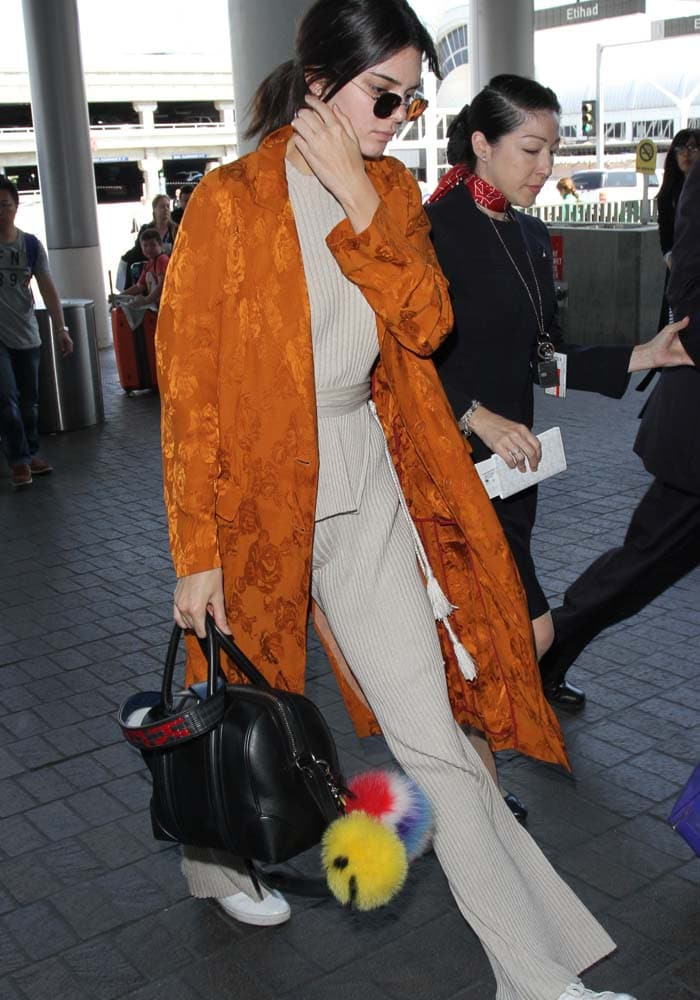 Kendall Jenner LAX Kenneth Cole Kam 2