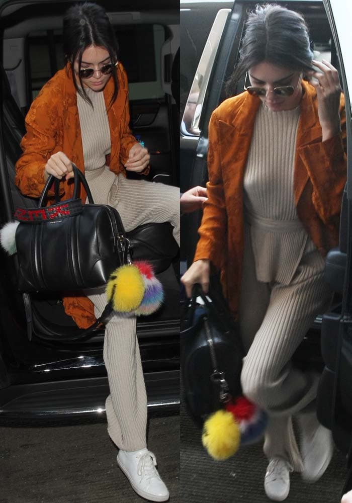 Kendall Jenner LAX Kenneth Cole Kam 4