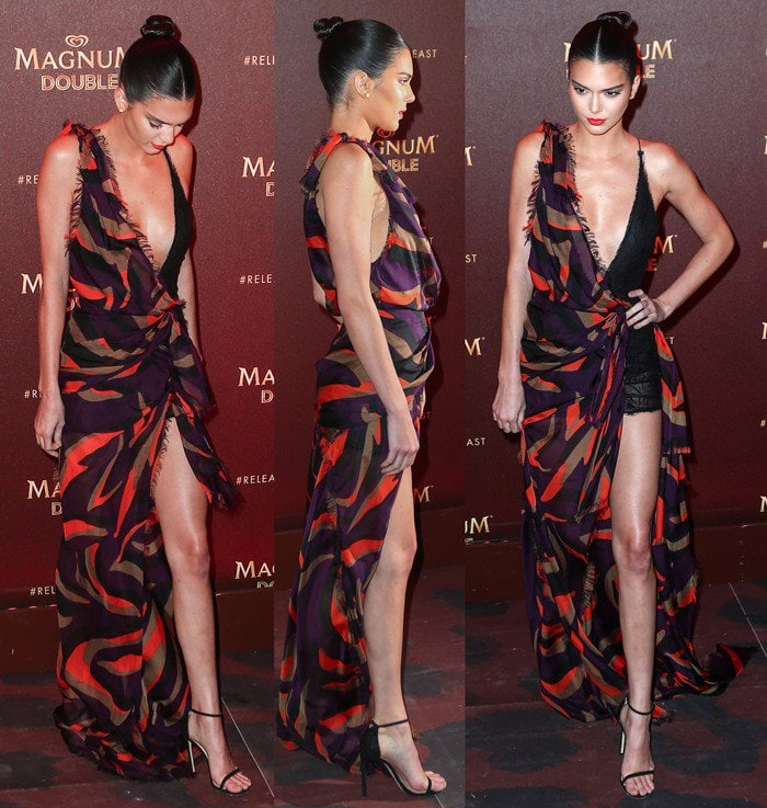Kendall Jenner Magnum Cannes