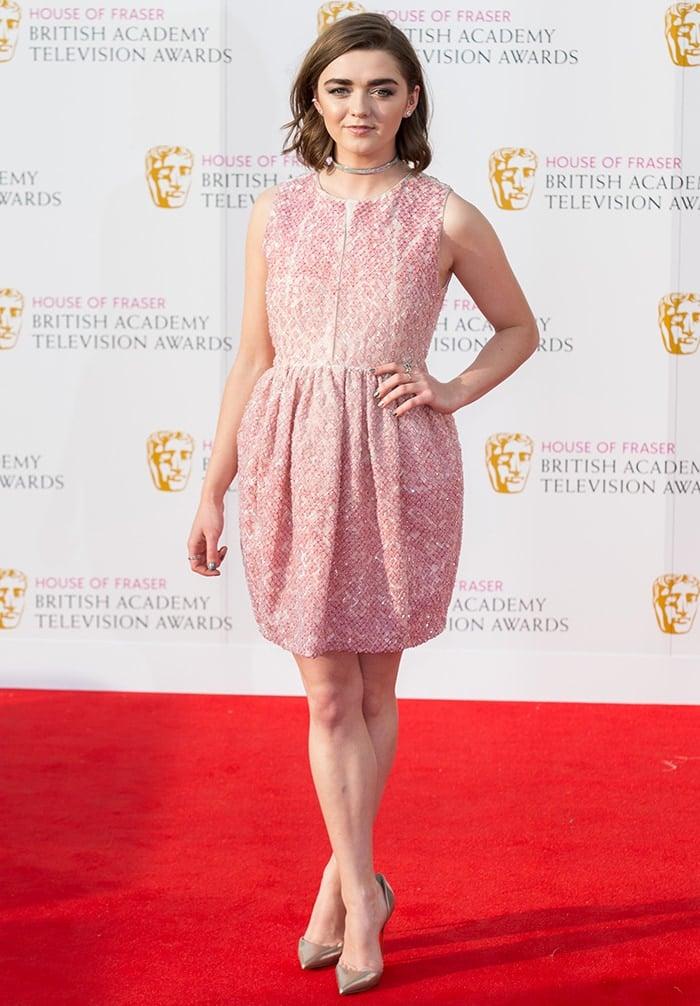 Maisie-Williams-British-Academy-Television-Awards-2016