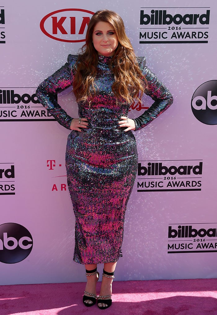 Meghan Trainor at the 2016 Billboard Music Awards Arrivals held at T-Mobile Arena in Las Vegas on May 22, 2016
