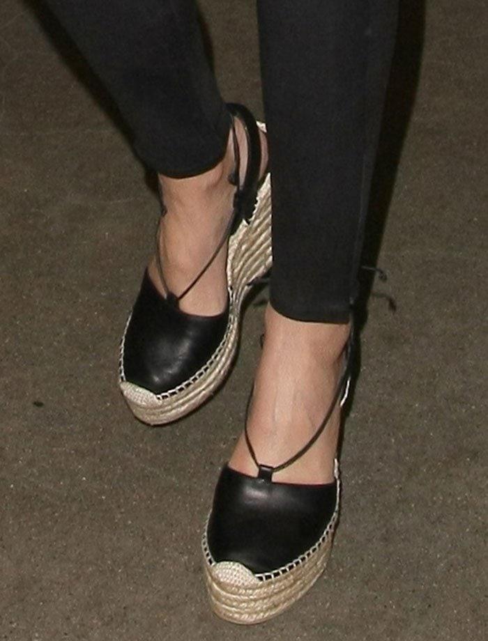 Miranda-Kerr-Saint-Laurent-Leather-Espadrille-Wedge-Sandals