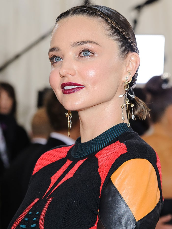 Miranda-Kerr-braided-hair-red-lipstick-MET-Gala-2016