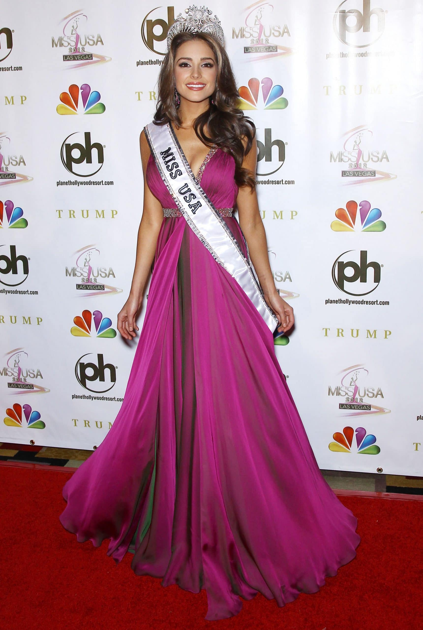 Miss USA 2012 Olivia Culpo attends the 2012 Miss USA post pageant press conference