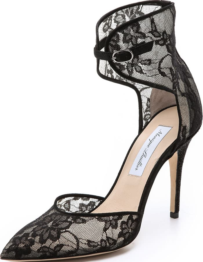 Monique-Lhuillier-Black-Lace-Mesh-Pumps