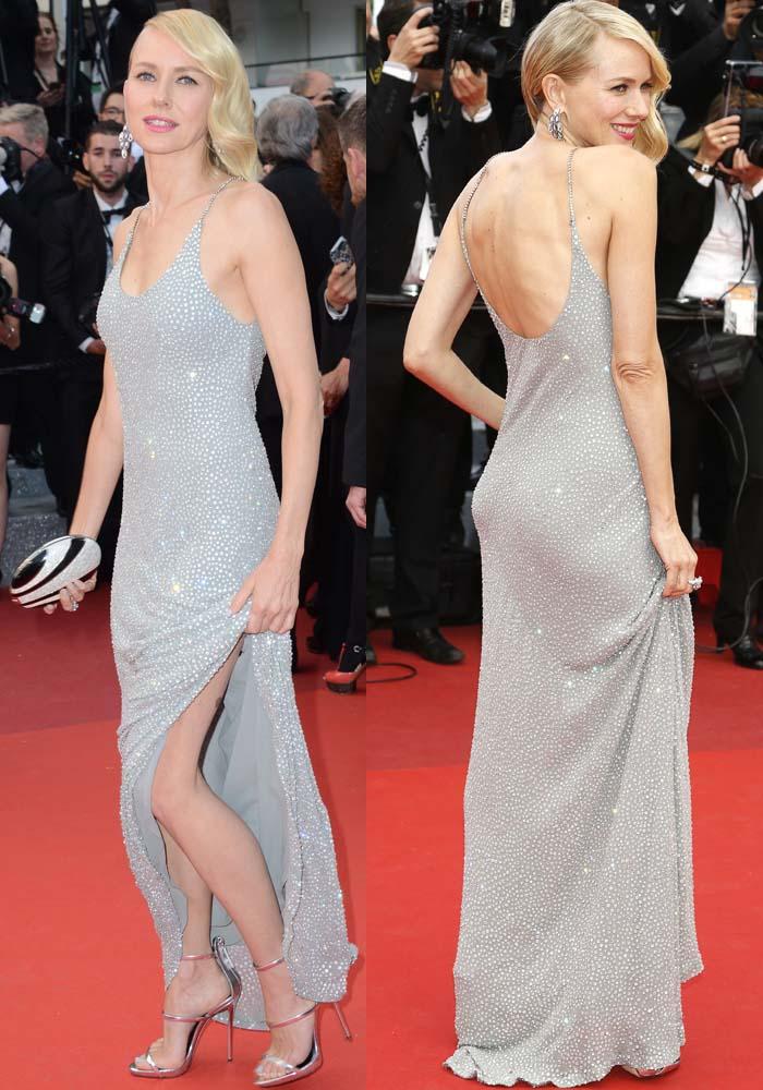 Naomi Watts Cannes Money Monster Giuseppe Zanotti 2