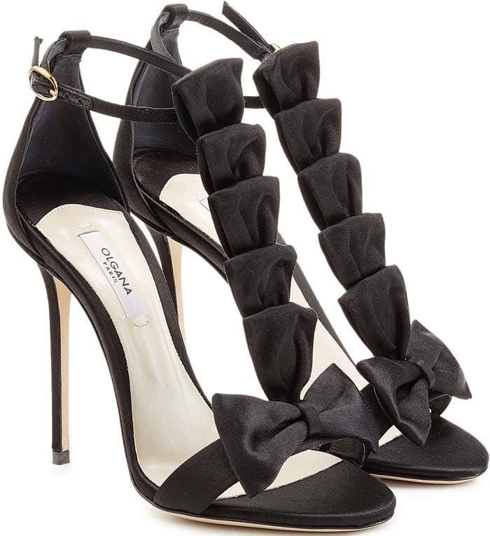 Olgana La Delicate 10 Satin Sandals