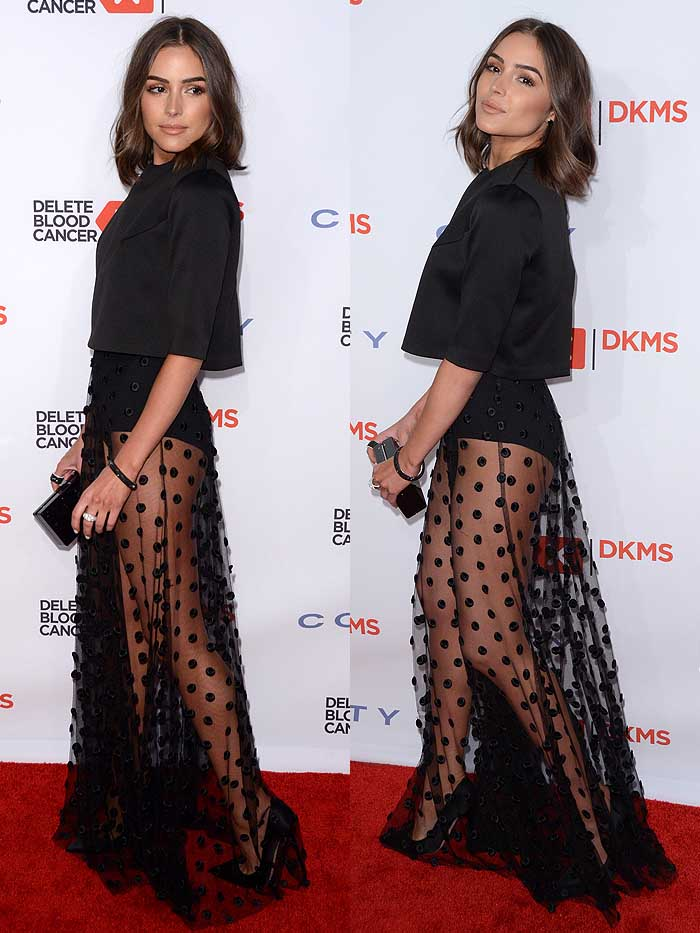 Olivia Culpo at the 10th Annual Delete Blood Cancer DKMS Gala at Cipriani Wall Street in New York City on May 5, 2016