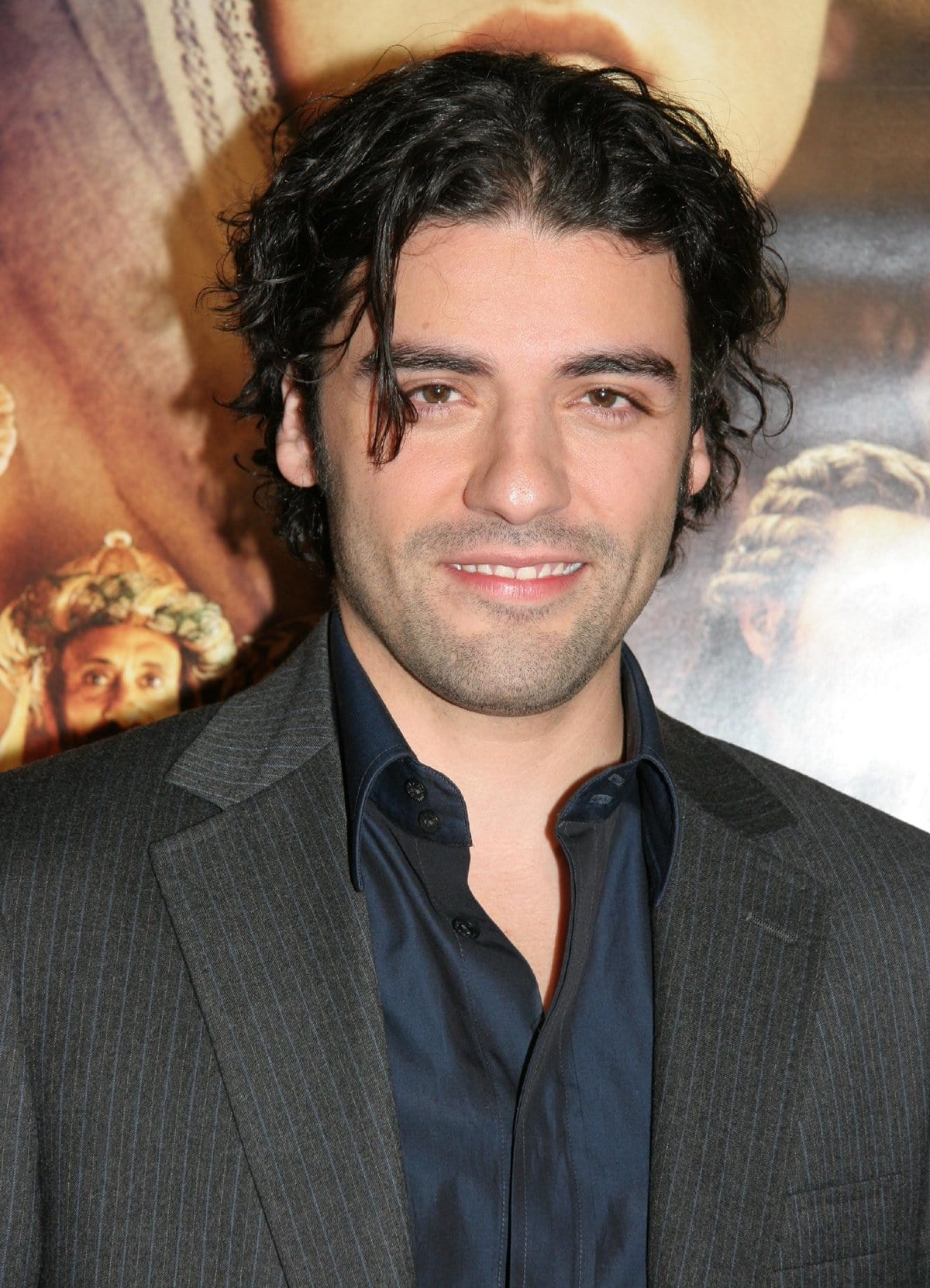 Oscar Isaac at the premiere of the 2006 American biblical drama film The Nativity Story
