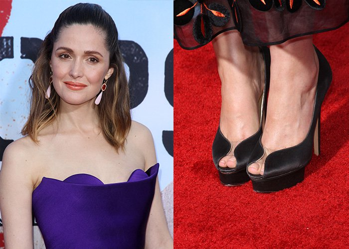 """Rose Byrne on the red carpet at the premiere of her film """"Neighbors 2: Sorority Rising"""""""