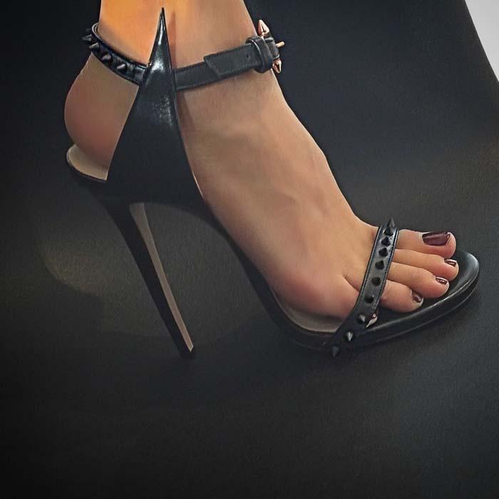 Ruthie Davis Leather Paris Sandals