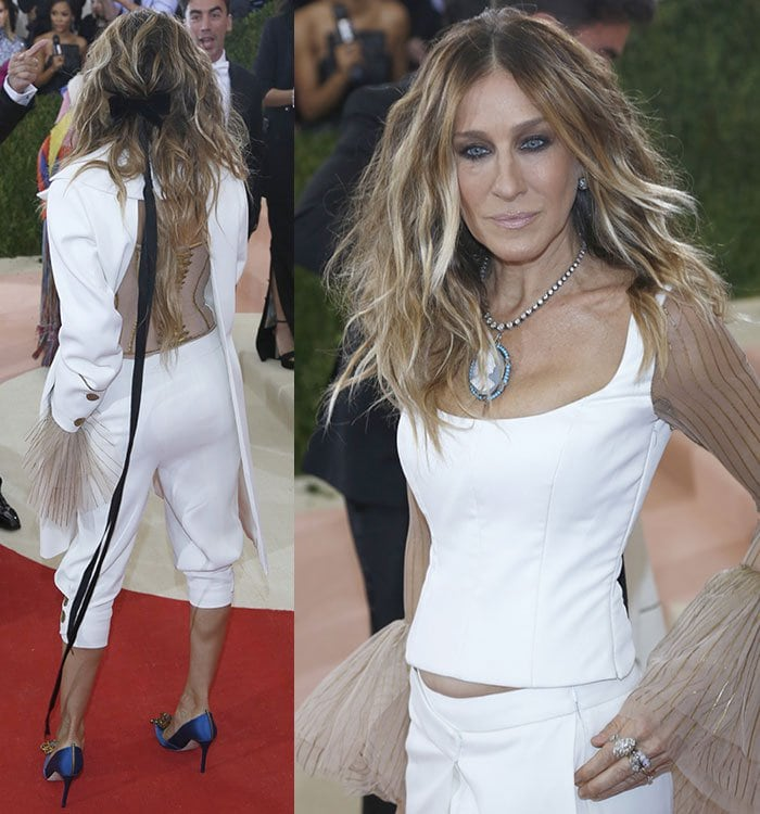"Sarah Jessica Parker at the ""Manus x Machina: Fashion In An Age Of Technology"" Costume Institute Gala"